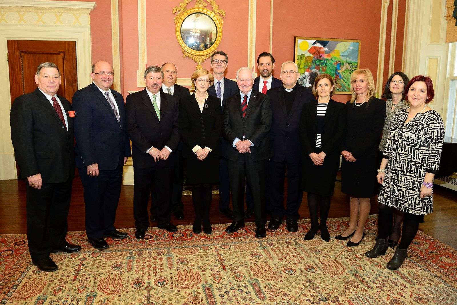 Congratulations to the new ambassador of the republic of for Canadian chambre of commerce