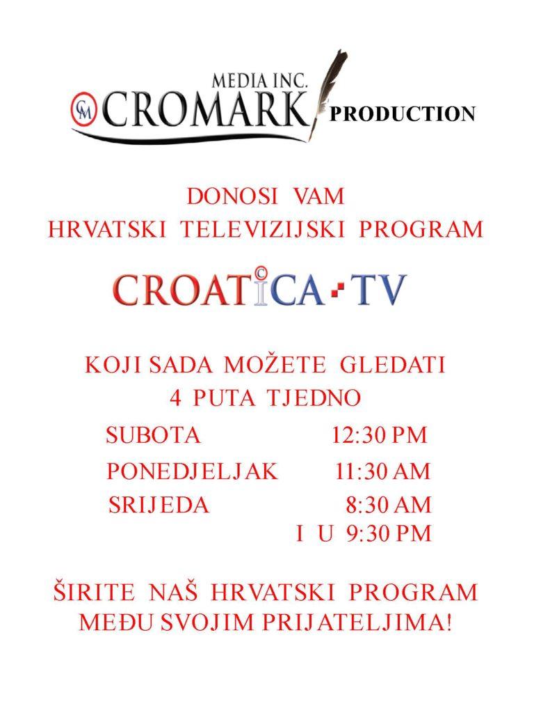 Croatica TV Poster in Croatian (2)