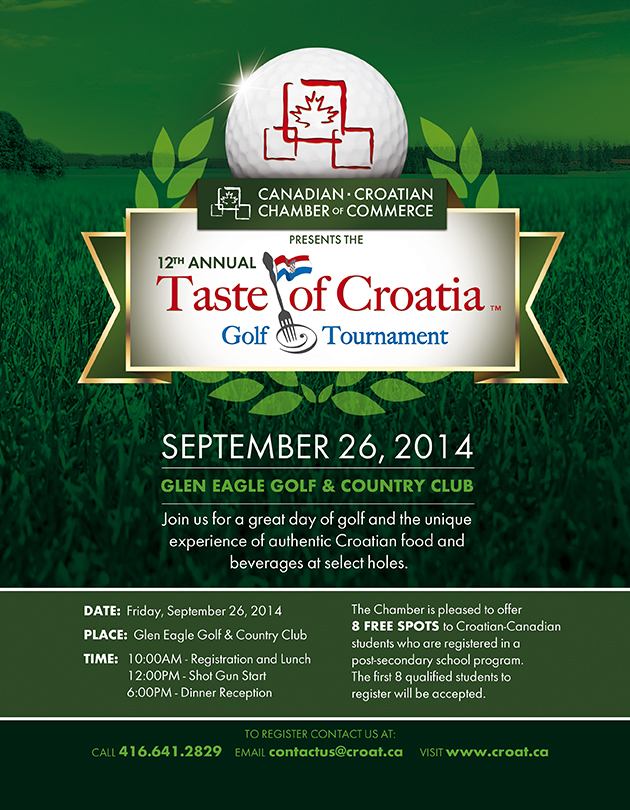 12th Annual Taste of Croatia Golf Tournament