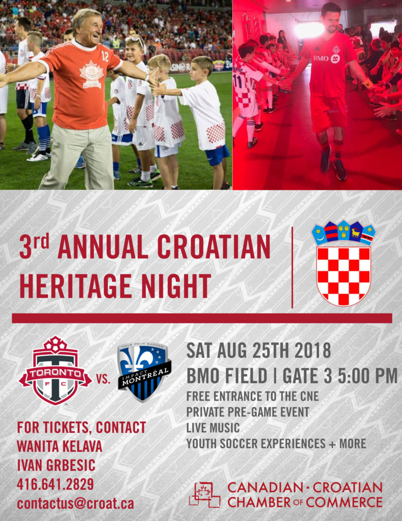 Croatian Heritage Night TFC 2018